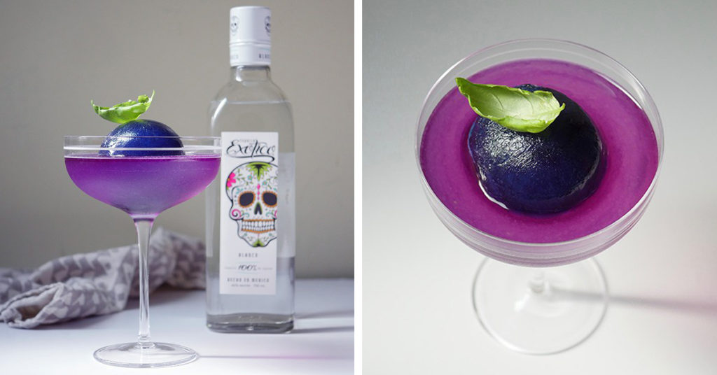 Fall Signature Drink - Purple