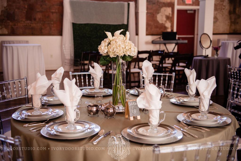 White Florals Vintage