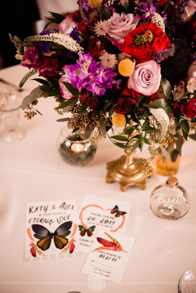 Butterfly Boho Wedding Invitations
