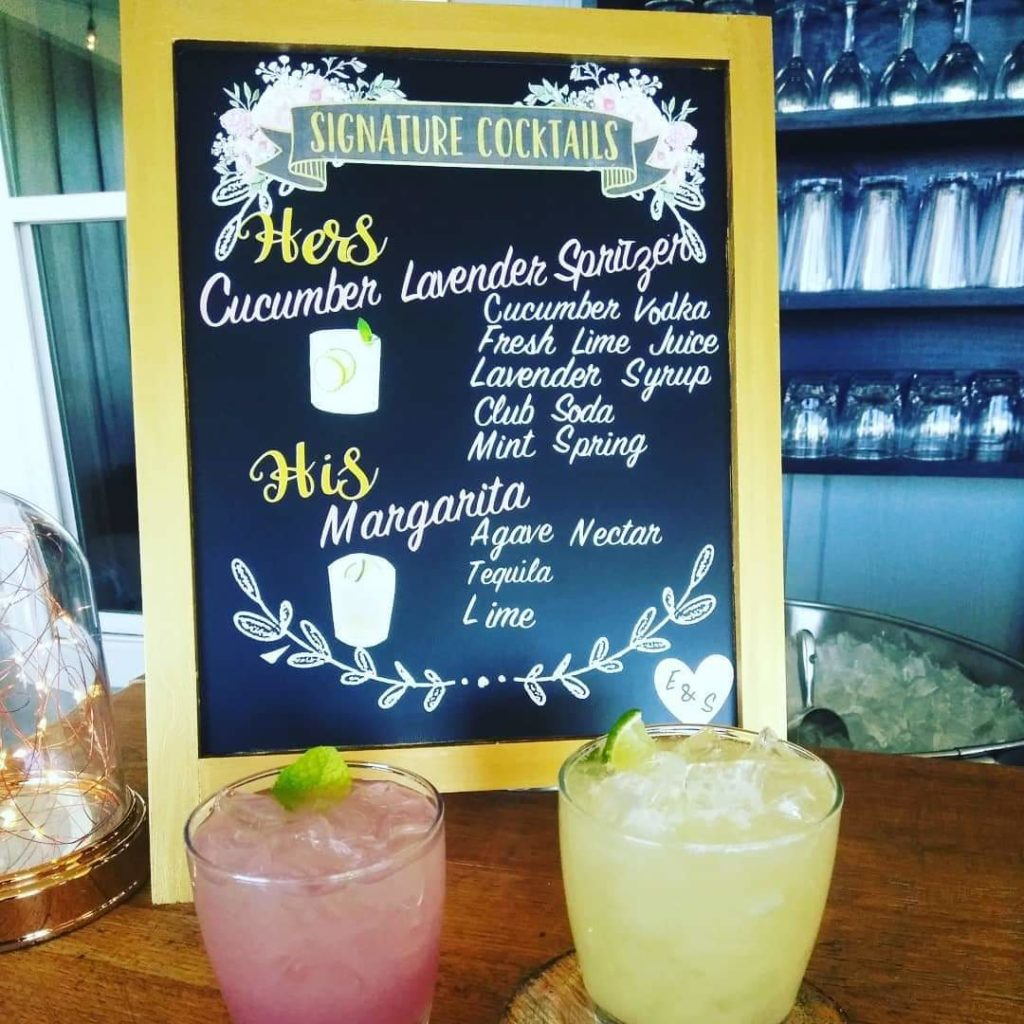 Mr. & Mrs. Signature Drinks - Simply Southern Occasions