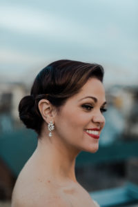 Bridal Updo & Makeup - Bridal Hair and Makeup - Indigo Beauty Collective