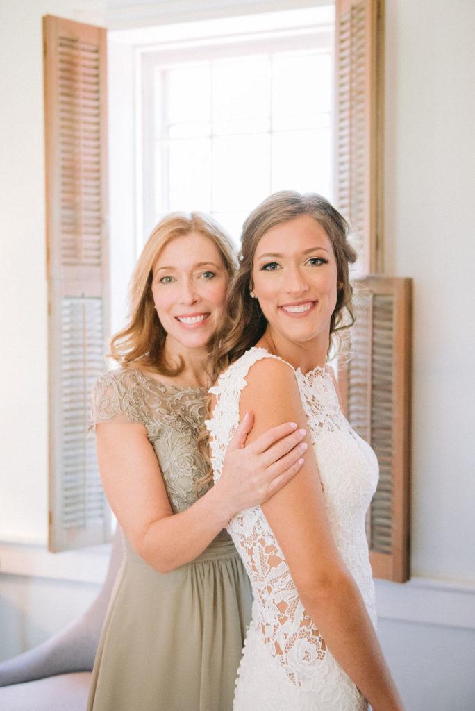 Mother Daughter - Blush & Grey Wedding