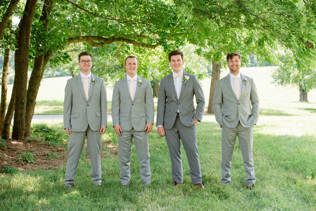 Grey Tuxes