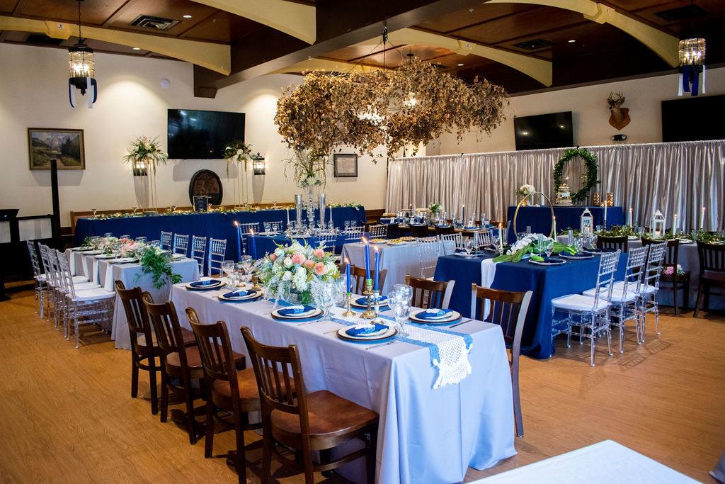 Styled Wedding Reception
