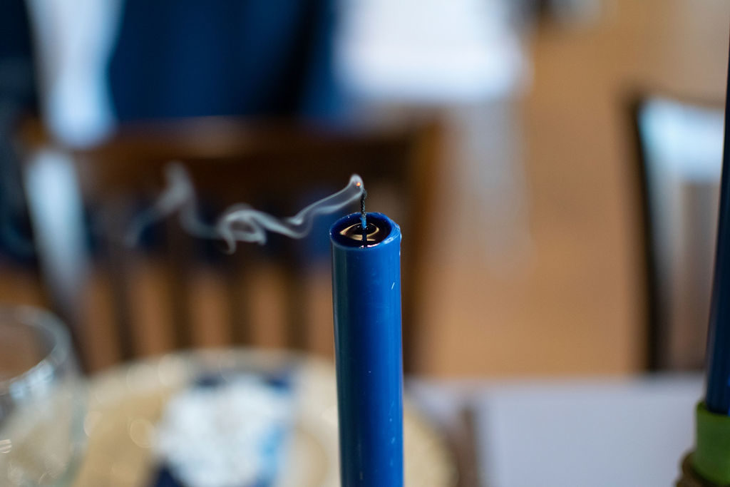 Navy Candle