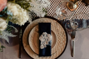 Navy & Cream - Vintage Wedding