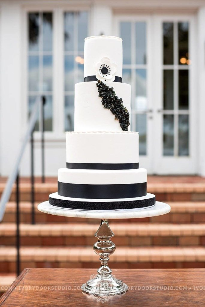 Black & White Cake - National Cake Day