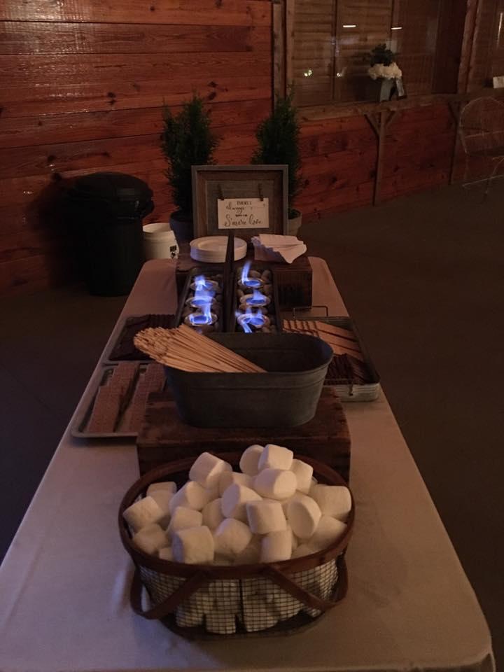 Wedding S'mores Bar - Kathy's Sugar & Spice