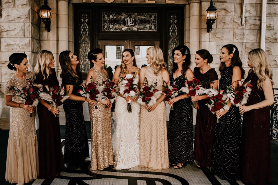 Belles Fleurs - Rachel + Ryan's Gatsby themed wedding