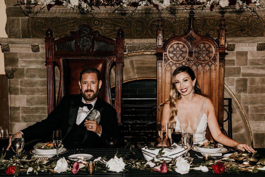 Rachel + Ryan's Gatsby themed wedding - Belles Fleurs