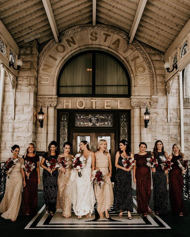 Rachel + Ryan's Gatsby themed wedding