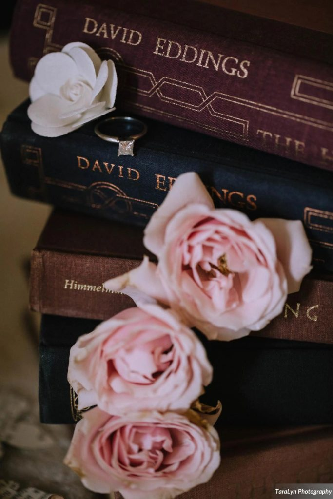 Engagement Ring - Literary Love