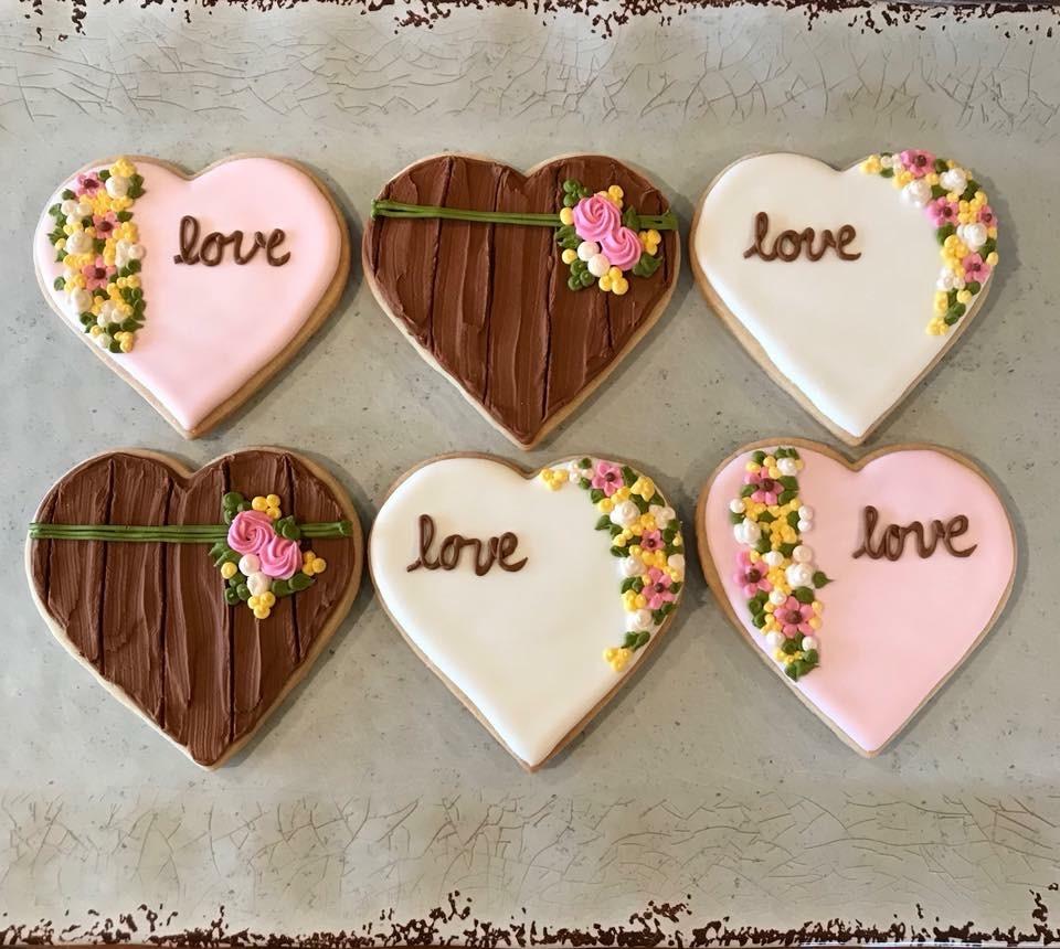 Valentine Love Cookies