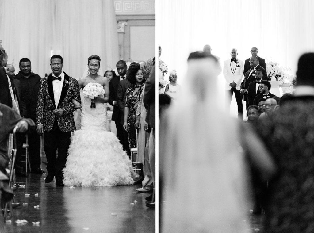 Modern Glam Wedding