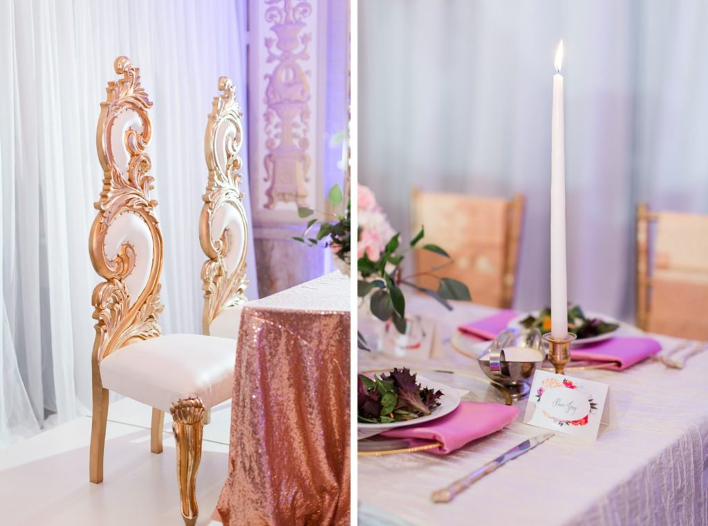 Modern Glam Wedding Cadre - Couture by Tess