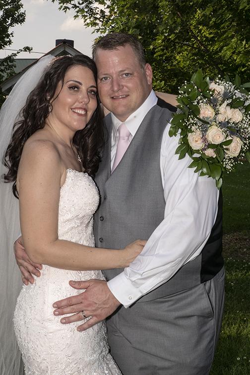 Bride & Groom - Grey & Purple Wedding