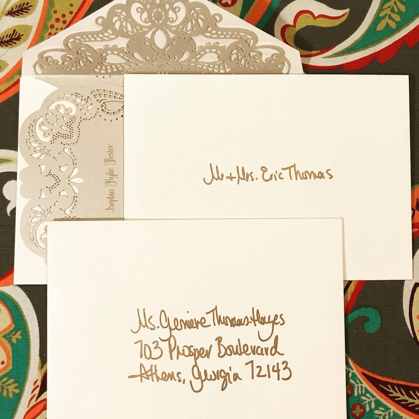 Envelopes Invitation Suite - Paperkuts Studio