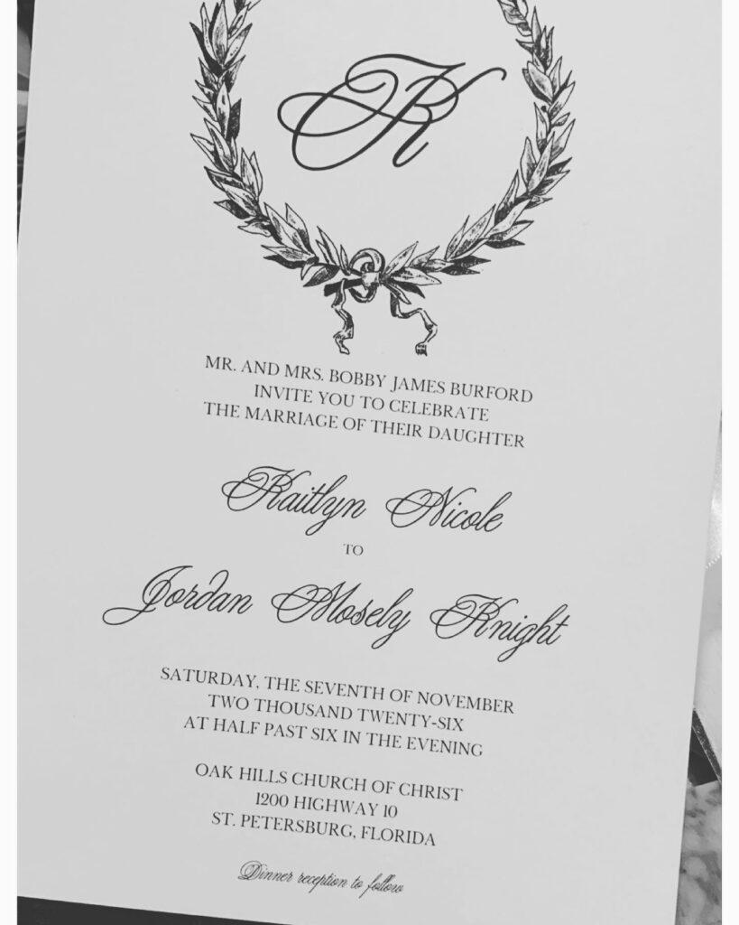 Wedding Invitation - Paperkuts Studio