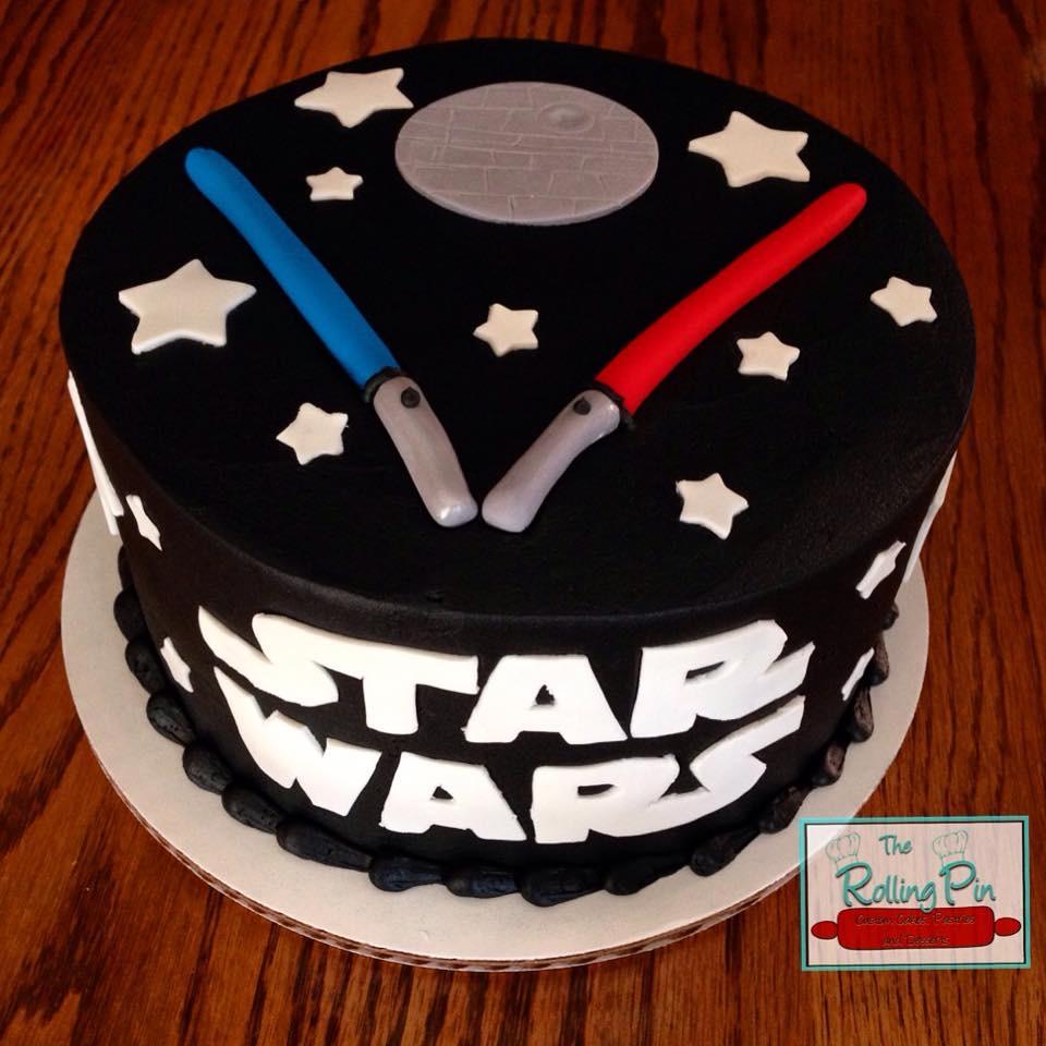Star Wars Groom Cake - Cool Cakes