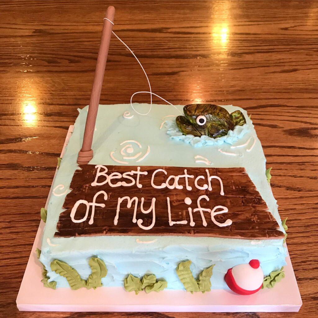 Fishing Groom's Cake