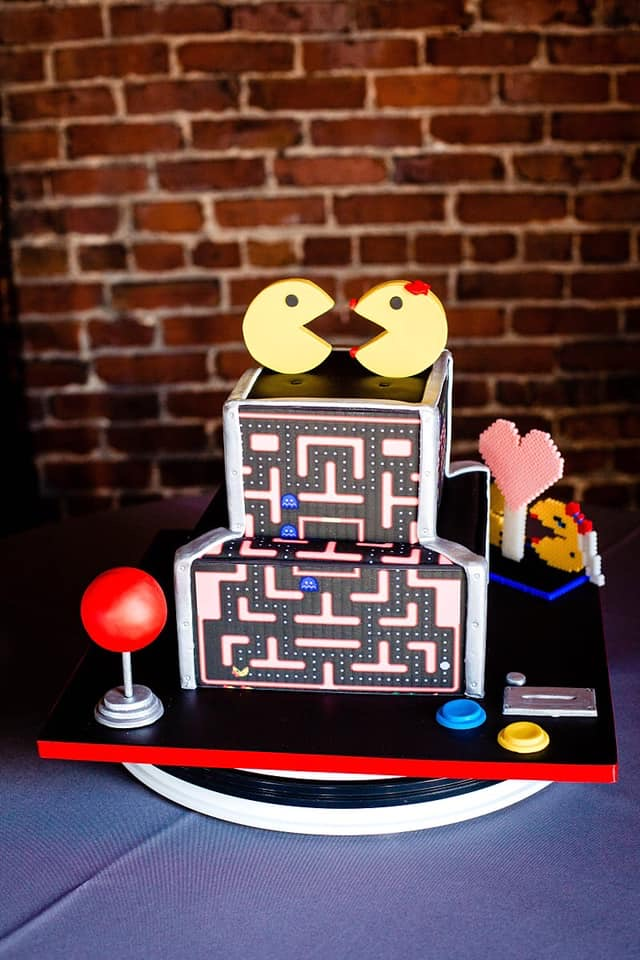 Cool Cakes - Pacman Wedding Cake