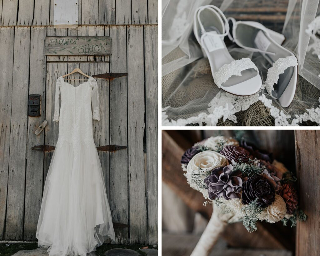 Purple & Lace Elopement - Danielle Christine Photography