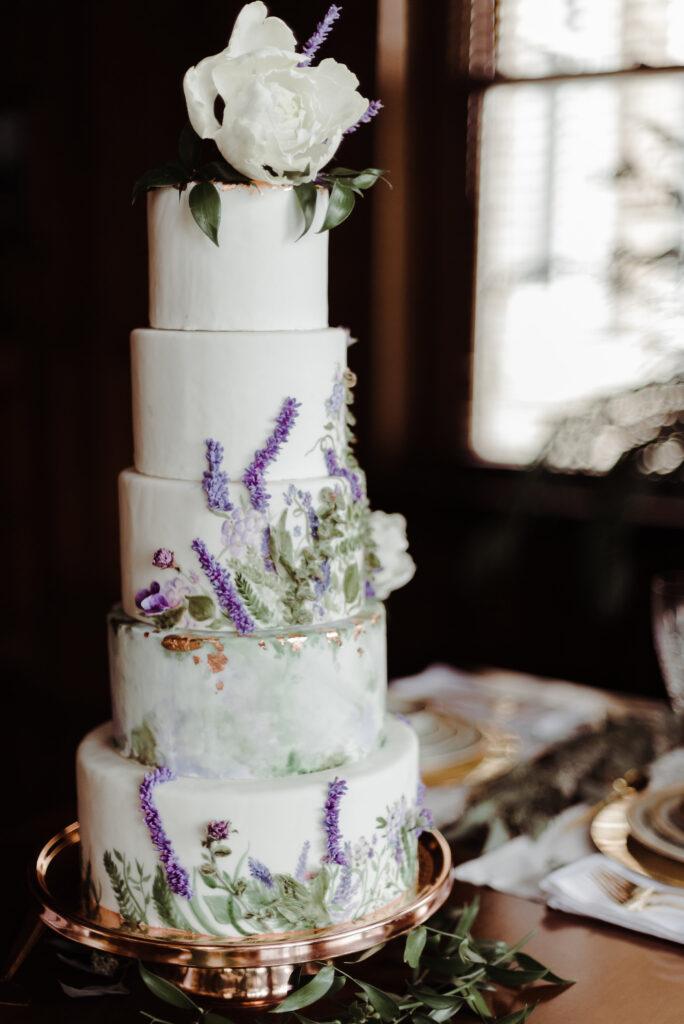Sugar Flowers - Wedding Cake