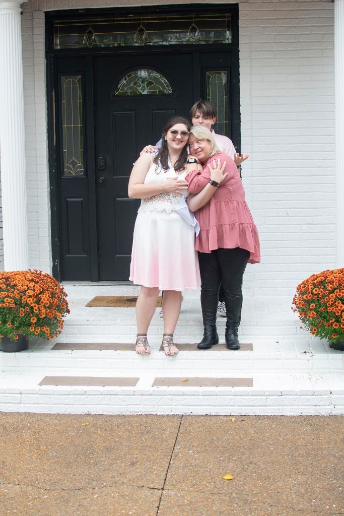 Bride in Blushing Pink